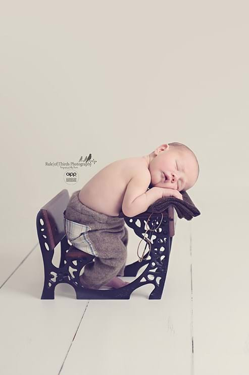 newborn photography rule of thirds photography